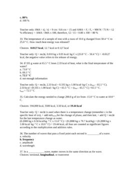 Physics Final Test 2