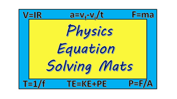 Physics Formula Problem Solver Guides