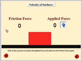 Physics - Friction Software and Handouts Bundle - PC & MAC Flash Version