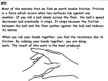 Physics - Friction w/worksheet (SMART BOARD)