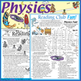 Physics Fun Puzzles – Key Concepts and Terms, Famous Physicists