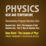 Physics: Heat and Temperature