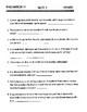 Physics Homework #2 Velocity