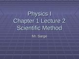 Physics I Scientific Method PowerPoint
