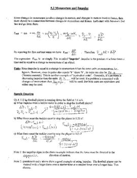 Physics: Impulse