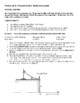 Physics Lab: Projectile Motion 1: Horizontal Launch