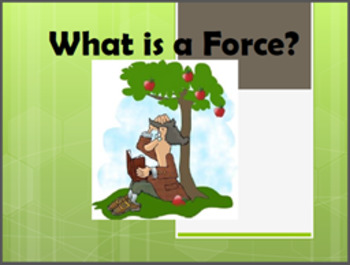 Physics Learning Station: Matter in Motion- What is a Force?