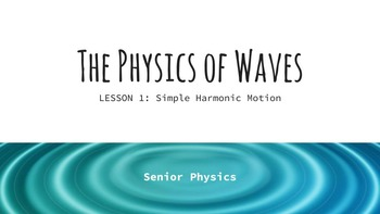 Physics Lectures - Waves