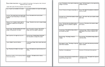 Physics Midterm Study Guide Worksheet