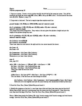 Physics Models with Python 10