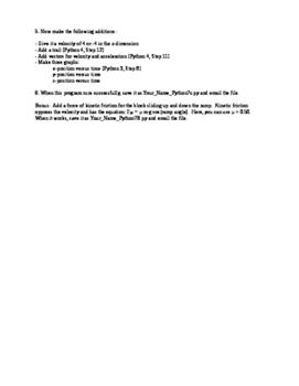 Physics Models with Python 7