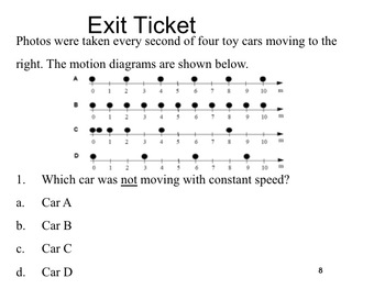 Physics - Motion Diagrams (Complete Lesson)
