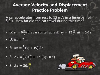 Physics Motion in One Dimension: Constant Acceleration PowerPoint