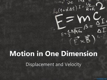 Physics Motion in One Dimension PowerPoint Bundle