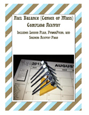 Physics Nail Balance (Center of Mass) Complete activity an
