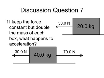 Physics - Net Force and Newton's Second Law (Complete Lesson)