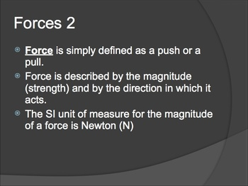 Physics Notes: Forces