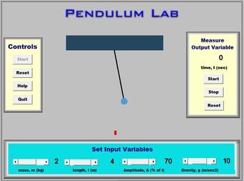 Physics - Pendulum Lab