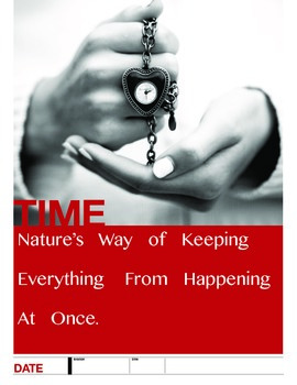 Physics Poster: Time