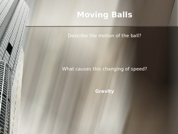 Physics: Powerpoint on Free Fall