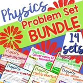 Physics Problem Set BUNDLE