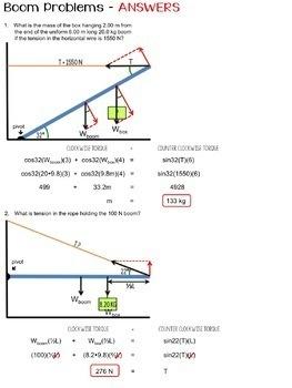 Physics Problem Set BUNDLE