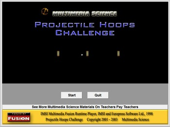 Physics - Projectile Hoops & Lab - PC Version