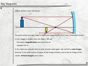 Physics - Ray Diagram Notes