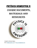 Physics Lesson Plan - Entire Semester 2 (Regular and Honors)