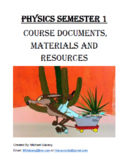 Physics Lesson Plan - Entire Semester 1 (Regular and Honors)