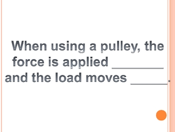 Physics Review for 5th Grade