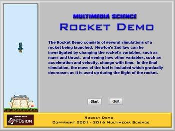 Physics - Rocket Demo Software