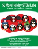 Physics Science Experiment STEM projects MEGA pack #5 - 50 MORE Holiday Labs