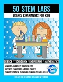 STEM and Engineering Challenge MEGA pack #1 with 50 learning activities