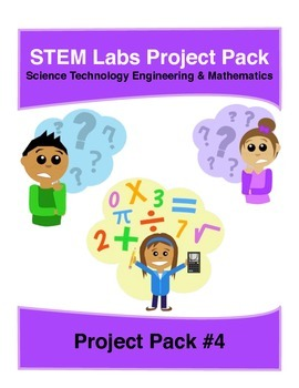 Physics Science Experiment STEM projects pack 4 with 10 mo