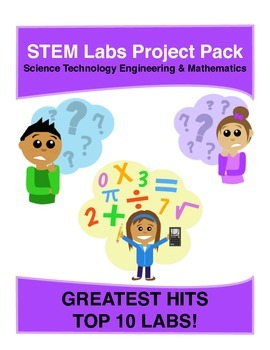 Physics Science Experiment STEM projects pack - TOP 10 Mos