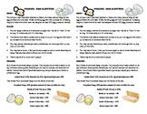 STEM Lab Science Experiment - egg drop survival lab
