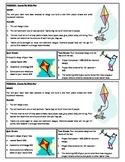 STEM Lab Science Experiment - plastic straws kite design lab
