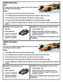 STEM Lab Science Experiment - race cars lab