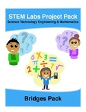 Physics Science Experiments STEM PACK - 6 building bridges labs
