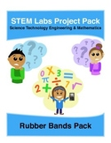 Physics Science Experiments STEM PACK - 8 rubber bands projects labs
