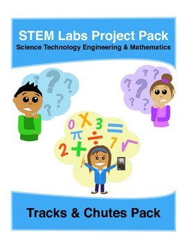 Physics Science Experiments STEM PACK - 13 tracks and chutes projects labs