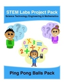 Physics Science Experiments STEM PACK - 8 ping pong balls projects labs