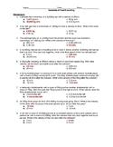 Physics Semester 2 Final Exam