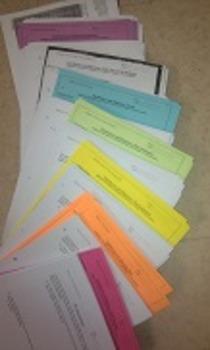 Physics Semester 2 - Full Sets of Handouts Pre-Printed