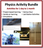 Physics - Single and Multi-day Activity, Project, Task Card and Lab Bundle