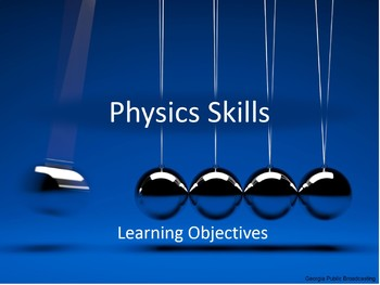 Physics Skills (Chapter 1)