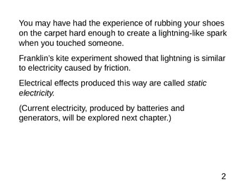 Physics - Static Electricity .ppt