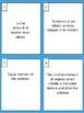 Physics Study Buddy Vocabulary Cards