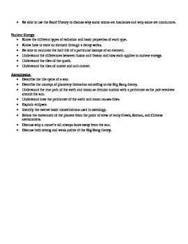 Physics - Study Guide